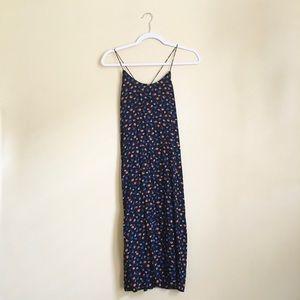 Madewell Tie-Back Slip Dress in Prairie Posies